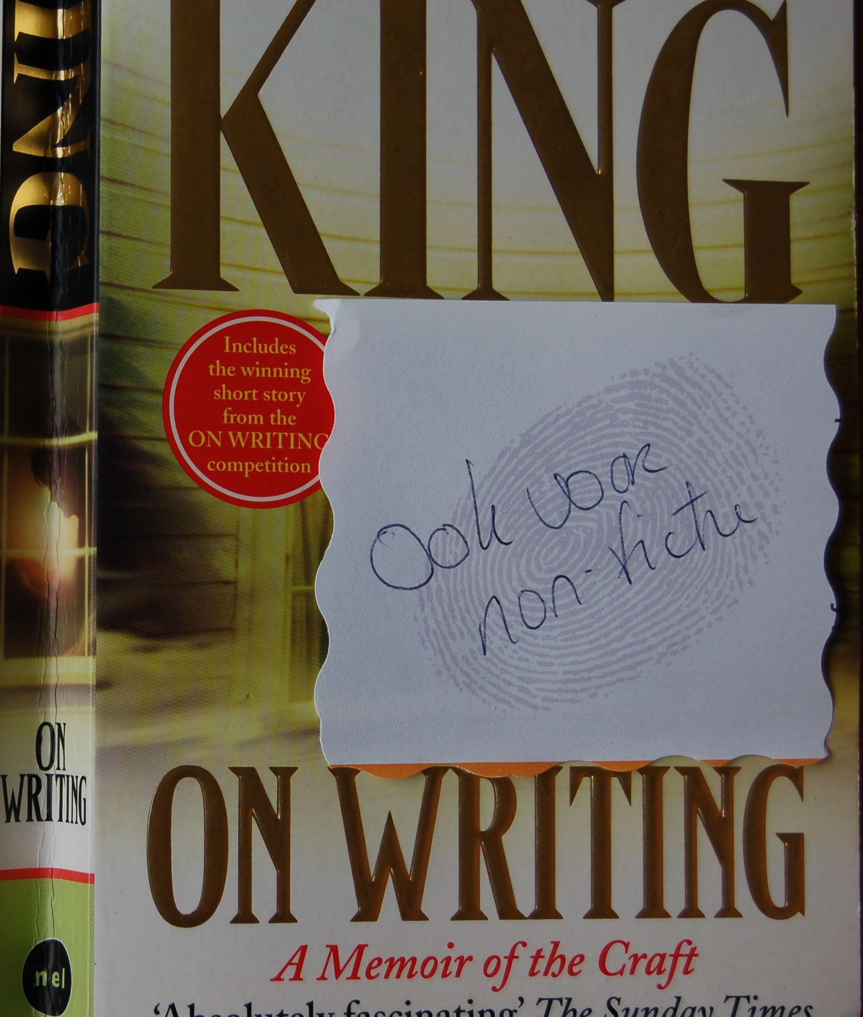 Stephen King Schrijftips