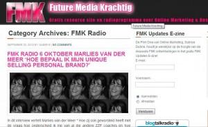 FMKRadio Marlies van der Meer