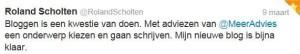 compliment @rolandscholten