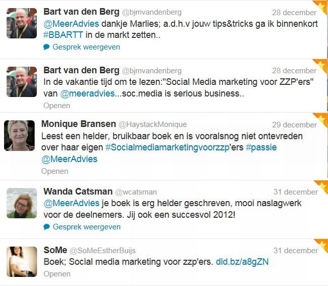 dec Tweetmonial social media marketing