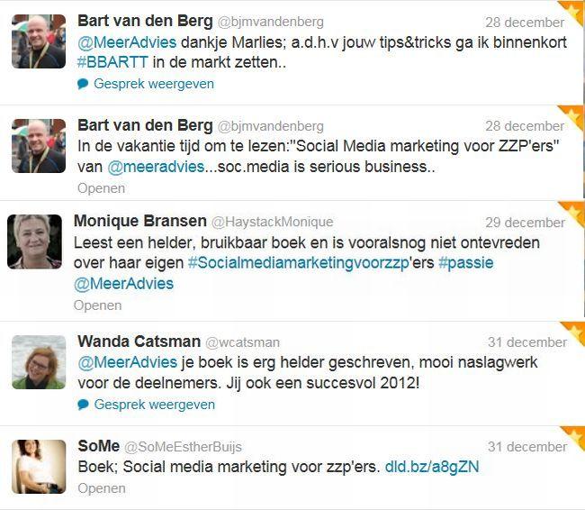 dec Tweetmonial social media marketing