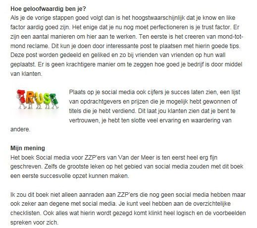 emarketingblog recensie social media marketing