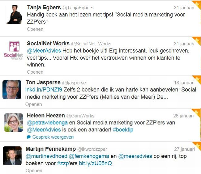jan Tweetmonial social media marketing