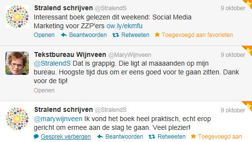 okt tweetmonial boek social media marketing