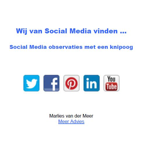 wij van social media vinden