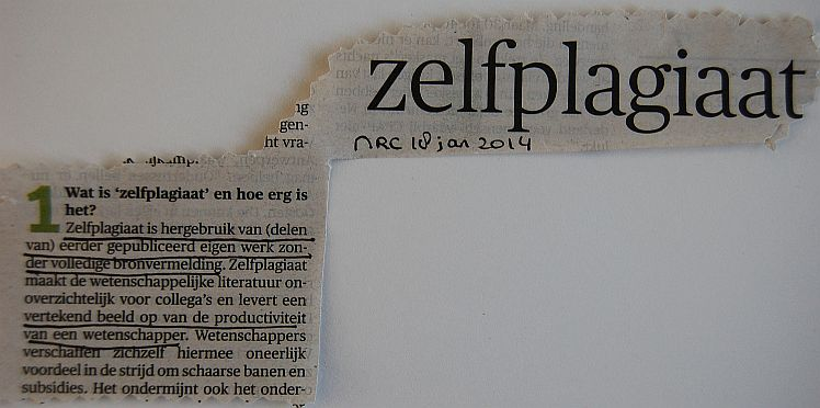 zelfplagiaat recycle content